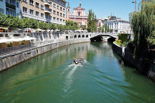 Ljubljana, City, Slovenia, Capital, Canal