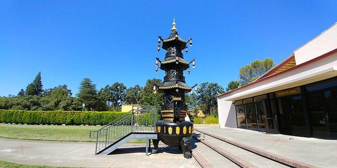 Incense Burner, Censor, Buddhist, Temple, Chinese
