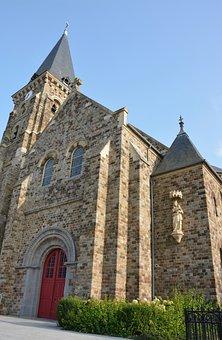 Church Of La Fresnais, Brittany, Religious Monument