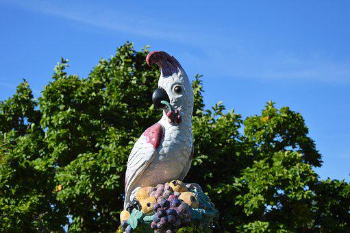Parrot, Figure, Deco, Animal, Decoration, Bird