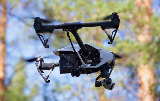 Drone, Fly, Flight, Quadricopter, Phantom, Camera
