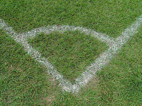 Football, Corner Kick, Lawn, Sports, Stadium