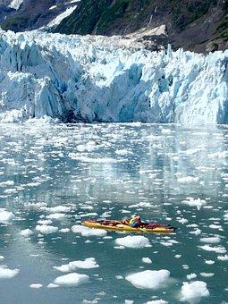 Glacier, Kayak, Alaska, Ice