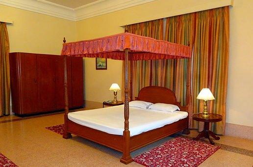 Bedroom, Interior, Furniture, Decor, Heritage, Antique