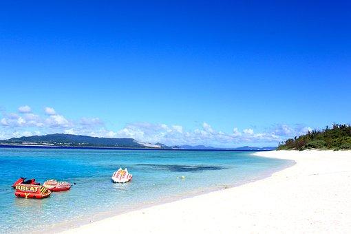 Beach, Okinawa, Sea, Japan, Nature, Ocean, Landscape