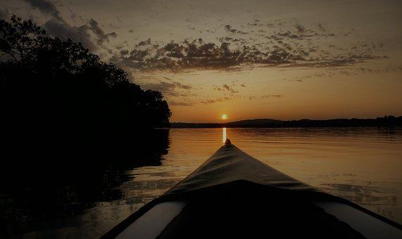Waters, Kayak, Canoeing, Paddle, Water, Outdoor