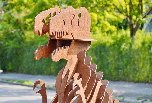 Dinosaur, Sculpture, Dino, Prehistoric Times