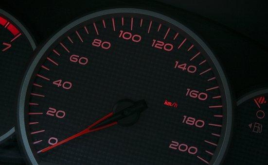 Speedometer, Speed, Mileage, Drive, Car, Tachometer