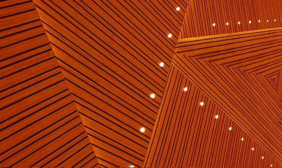 Wood, Ceiling, Interior, Design, Hardwood, Architecture