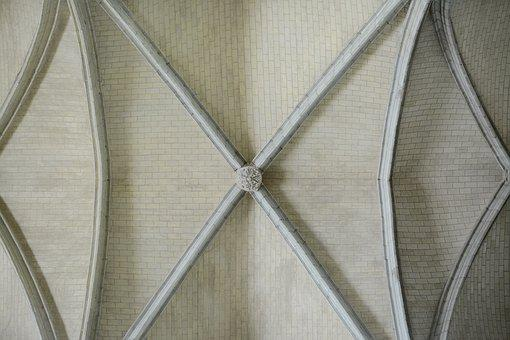 Architecture, Ceiling, Church, Cathedral, Interior