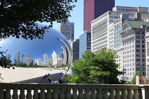 Chicago, Usa, Art