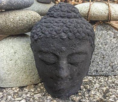 Awakening, Background, Black, Buddha, Buddhism