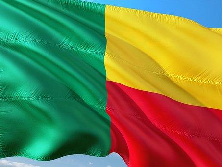 International, Flag, Benin
