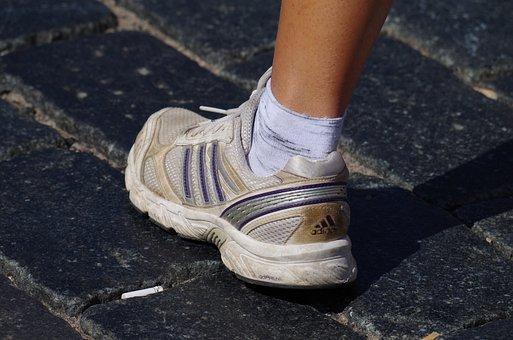 Foot, Sneaker, Runner, Sport