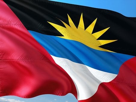 International, Flag, Antigua-and-barbuda