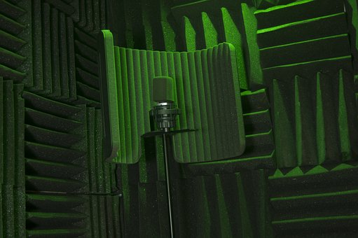 Microphone, Mic, Music Equipment, Recording Booth