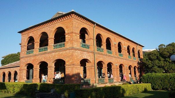 University, Red Brick Floor, Teaching Building