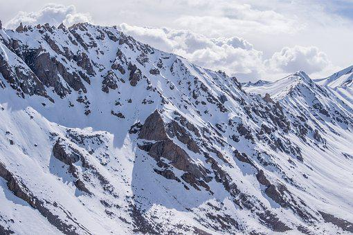 Mountains, Snow, Ice, Snowclad Mountains
