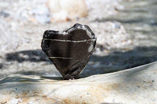 Heart Of Stone, Heart, Love, Bank, Romantic, Stone