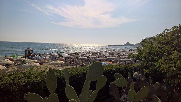 Sperlonga, Valledeicorsari, Sunset, August, Sea, Beach