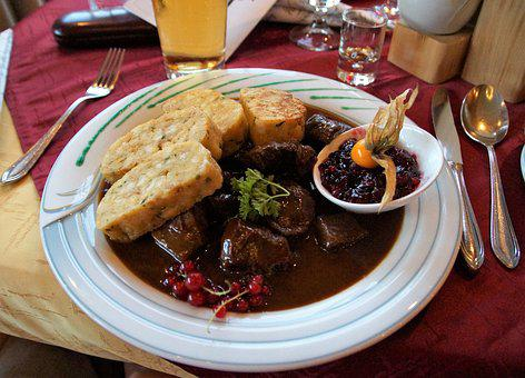Deer Stew, Specialty, Traditional Food, The Austrian