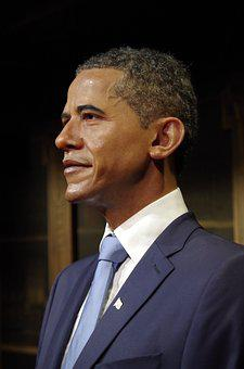 Obama, The President Of The, Us, A Wax Dummy