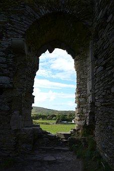 Castle, Ireland, Vacation, Ancient, Irish, Travel, Eire