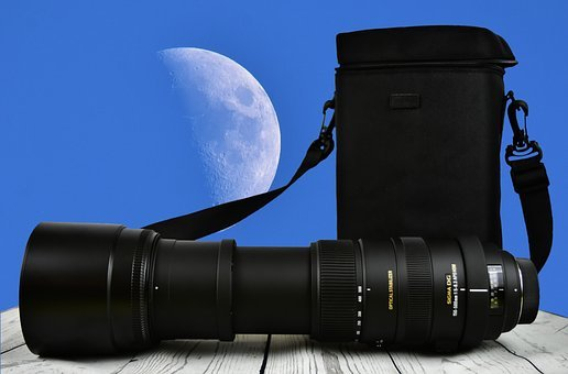 Zoom, Moon, Lens, Sigma, 150-500mm, Zoom Lens