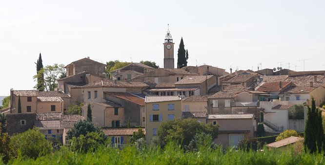 Village, Provence, Luberon, Alps, South, France