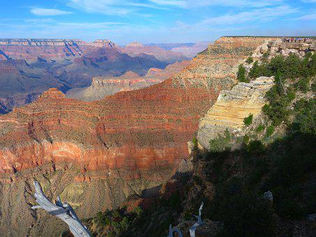 Usa, Grand Canyon, Landscape, Arizona, America