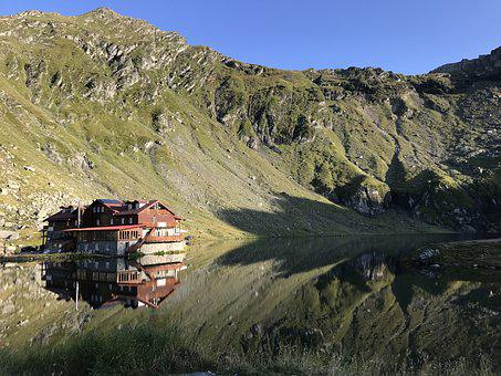 Balea Lac, Lake, Glacial, Transylvania, Romania, Balea