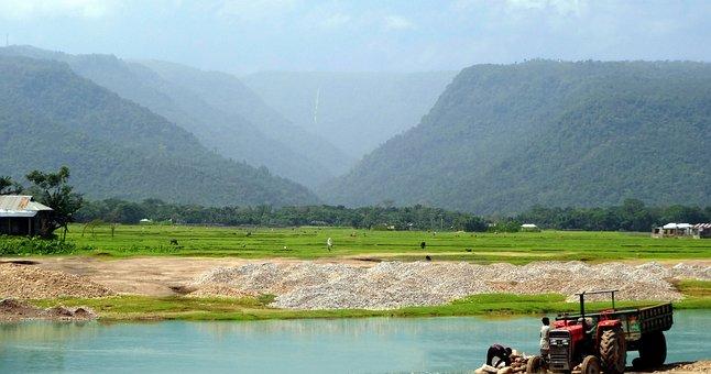 Bisnakandi, Sylhet, Bangladesh, Beauty, River