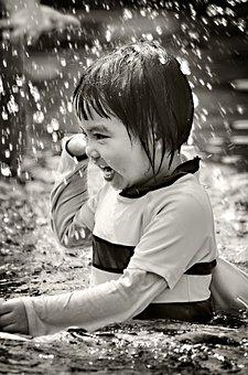 Children, Holiday, Pool, Swim, Playing, Water, Girl