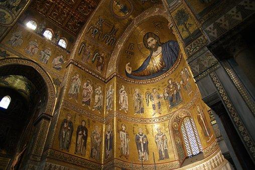 Italia, Italy, Sicily, Sicilia, Montreal, Church