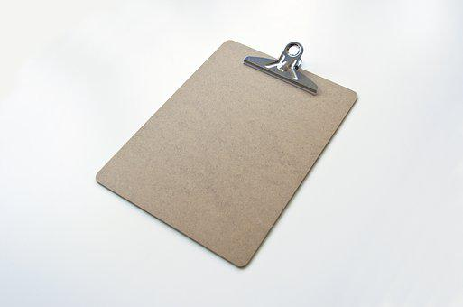 Clipboard, Clip, Business, Document, List, Office, Note