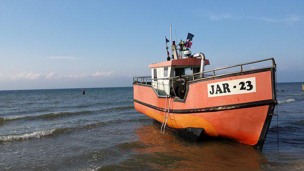 Wisla, Ship, Cutter, The Baltic Sea, Shipping, Boats