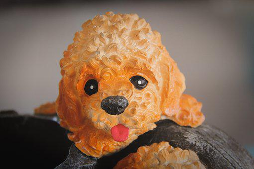 Doll, Dog, Stucco, Dog Doll