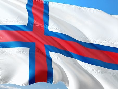 International, Flag, Faroe-islands, Färöer