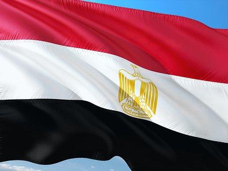 International, Flag, Egypt
