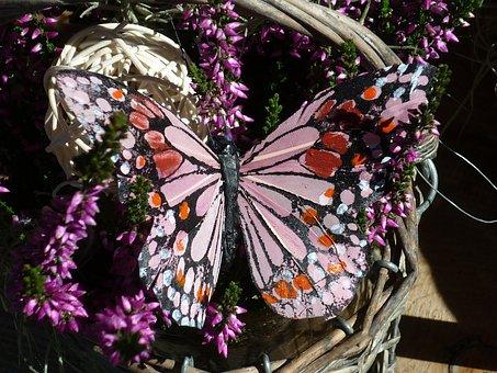 Flower Arrangement, Floristry, Butterfly