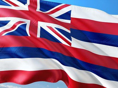 International, Flag, Hawaii