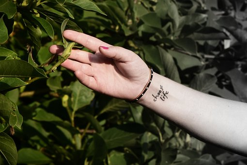 Nature, Mood, Live New, Hand, Tattoo