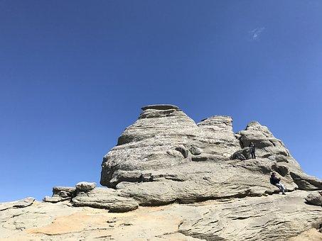 Bucegi Sphinx, Babele, Mountain, Bucegi, Romania