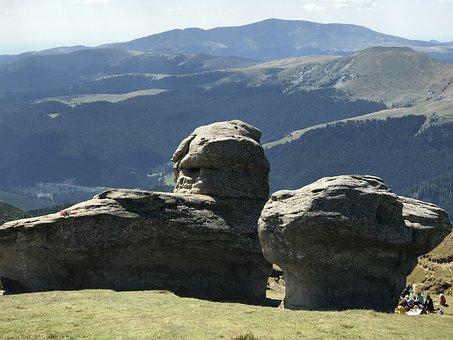 Bucegi Sfinxl, Transylvania, Carpathian, Mountains