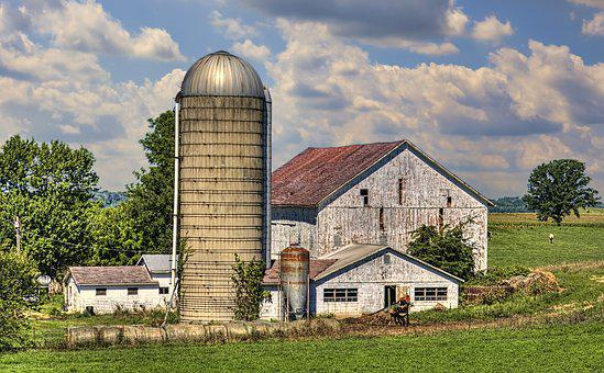 Barn, Rustic, Barns, Weathered, Ohio, Digital Art
