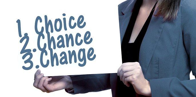 Woman, Shield, Present, Choice, Selection, Chance