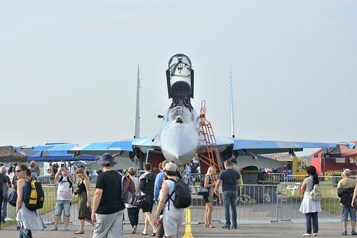 Radom Air Show, Su-27, Air Show, Aircraft, Aviation