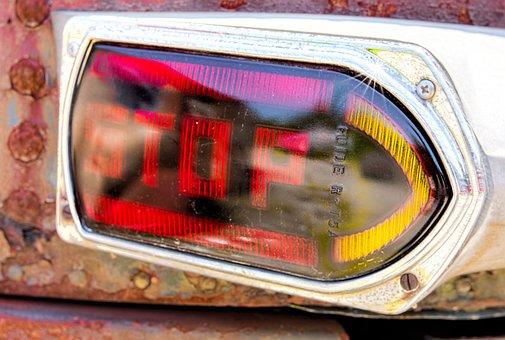 Stop, Sign, Car, Signal