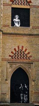 Princess Diana, Street, Wall, Art, Paparazzi, Croydon