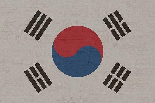 Flag, Banner, Nation, Coat Of Arms, South Korea, Land